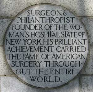 Photo of part of the Dr. Sims column stating his accomplishments
