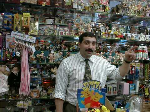 Picture of a store manager at a discount store