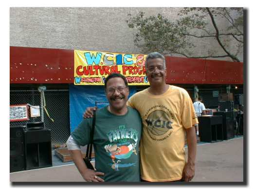 Picture of Democratic District Leader, Harry Rodriguez with East Harlem Online Founder, Jose B. Rivera