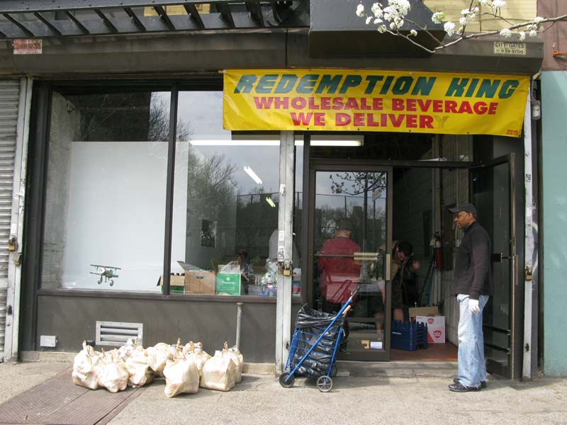 Outside front  of Redemption King