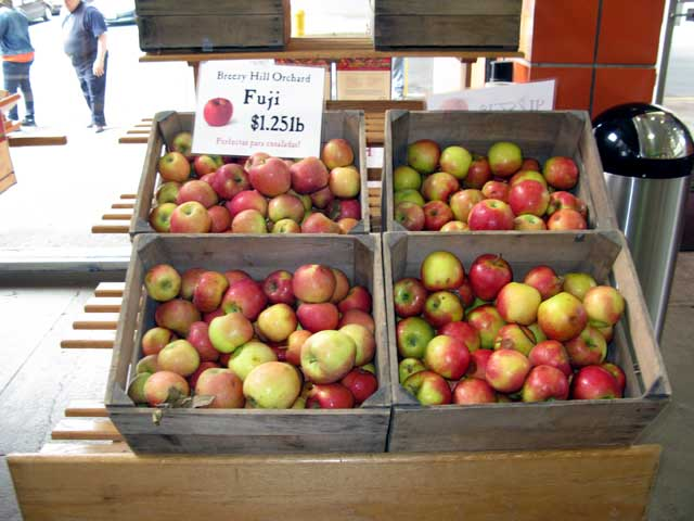 Basket of Apples from Breezy Hill Orchard