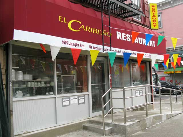 Photo of the front of the restaurant