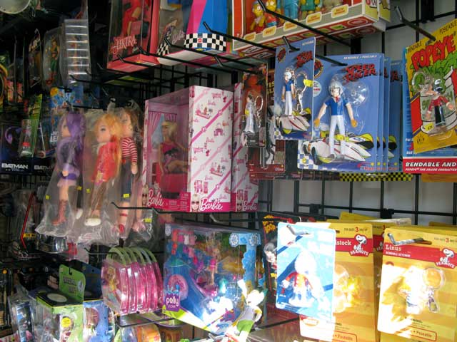 Photo of the Inside of The Collector's Toy Den