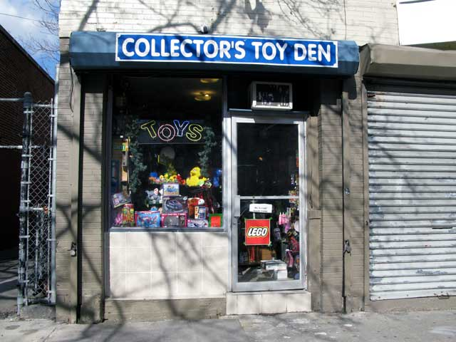 Photo of the outside of The Collector's Toy Den