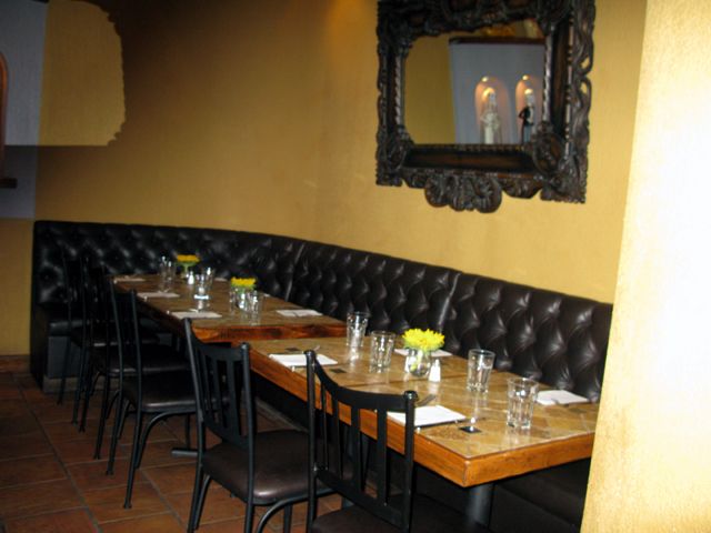 Photo of part of the inside of El Paso Taqueri at East 104th Street and Lexington Avenue