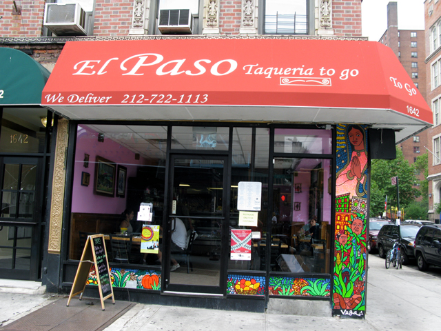 Photo of the front of El Paso Taqueria To Go