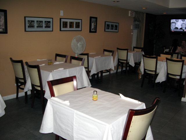 Inside of the La Galette Restaurant