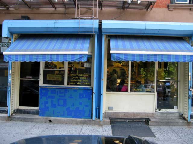 Photo of the Outside entrance of the La Tropezienne Bakery