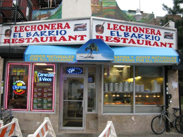 Photo of the Lechonera.
