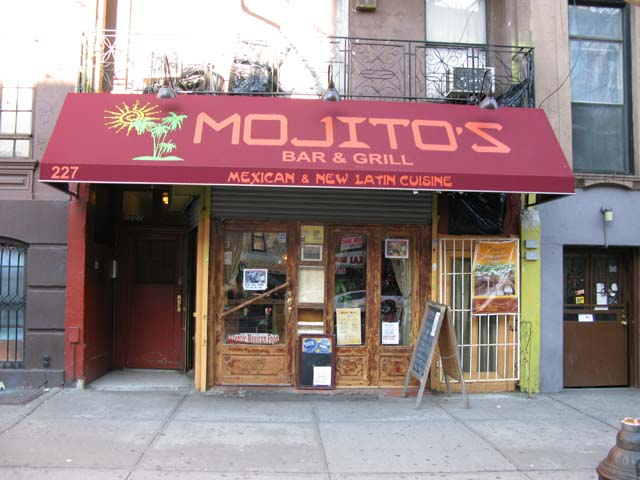 Photo of the Front of Mojitos