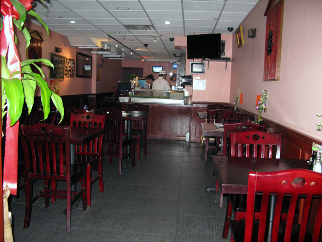 Photo of the interior of the Moon House Restaurant