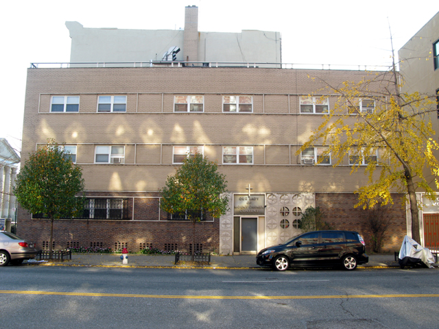Photo of the front of Our Lady of Mt Carmel Convent