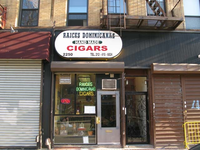 Photo of the front of the store