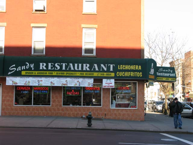 Photo of the front of Sandy's Restaurant