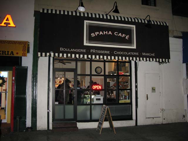 Photo of the front of the Cafe