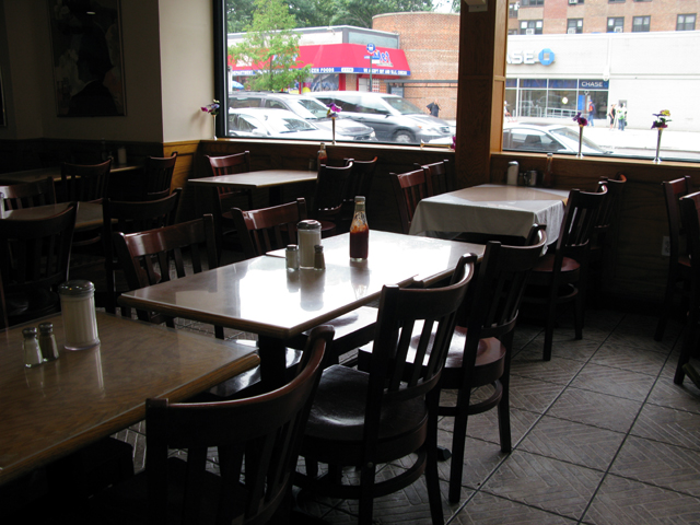 Photo of the inside of the Triple A Diner