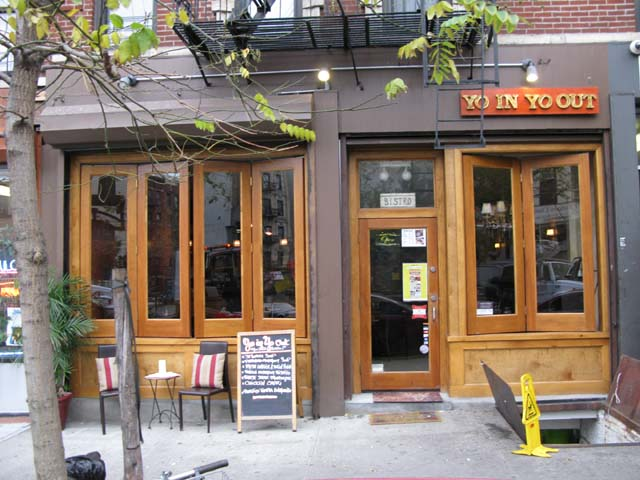 Photo of the front of the bistro