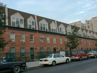 Picture of buildings on East 109th Street
