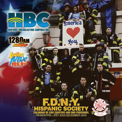 Picture of FDNY Calendar Front Cover