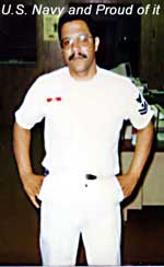 Jose B. Rivera in Naval Uniform