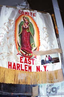 Picture of Cloth Banner with the word Comite East Harlem, NY